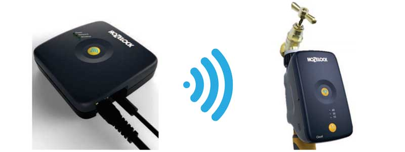 Programador de Riego Wifi para Grifo Hozelock