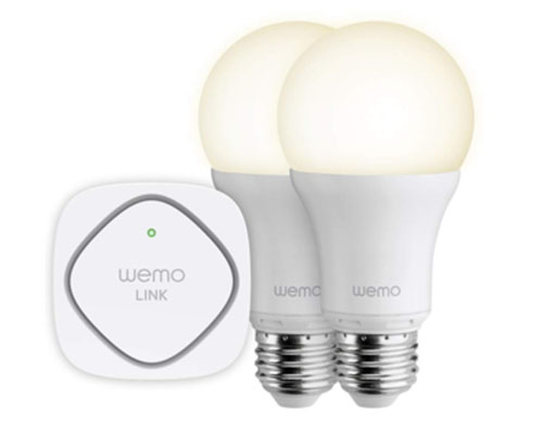 Kit Iluminación Wifi Belkin Led Wemo